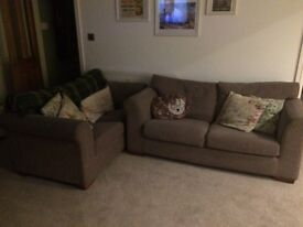 Next two and three seater sofa