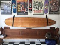 vinatge wooden surfboard 10ft skate,surf