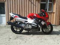 Honda CBR 600 21800 miles very reliable 2 owners from new