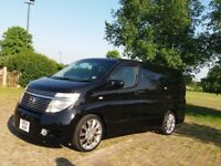 NISSAN ELGRAND PETROL, AUTOMATIC. FULL SERVICE HISTORY GREAT CONDITION GREAT FOR FAMILYS MPV 8 SEATS