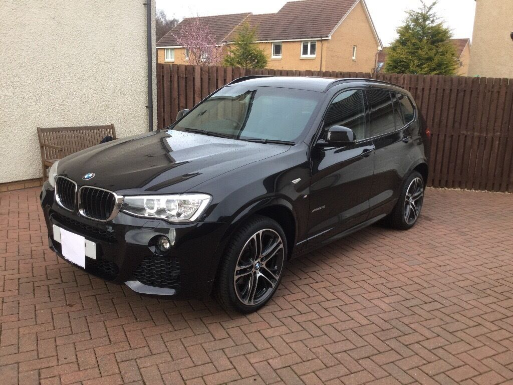 2016 bmw x3 xdrive20d m sport auto lci 16 16 black. Black Bedroom Furniture Sets. Home Design Ideas