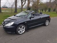 Peugeot 307cc hard top convertible. 2005 2.0l petrol 180bhp model