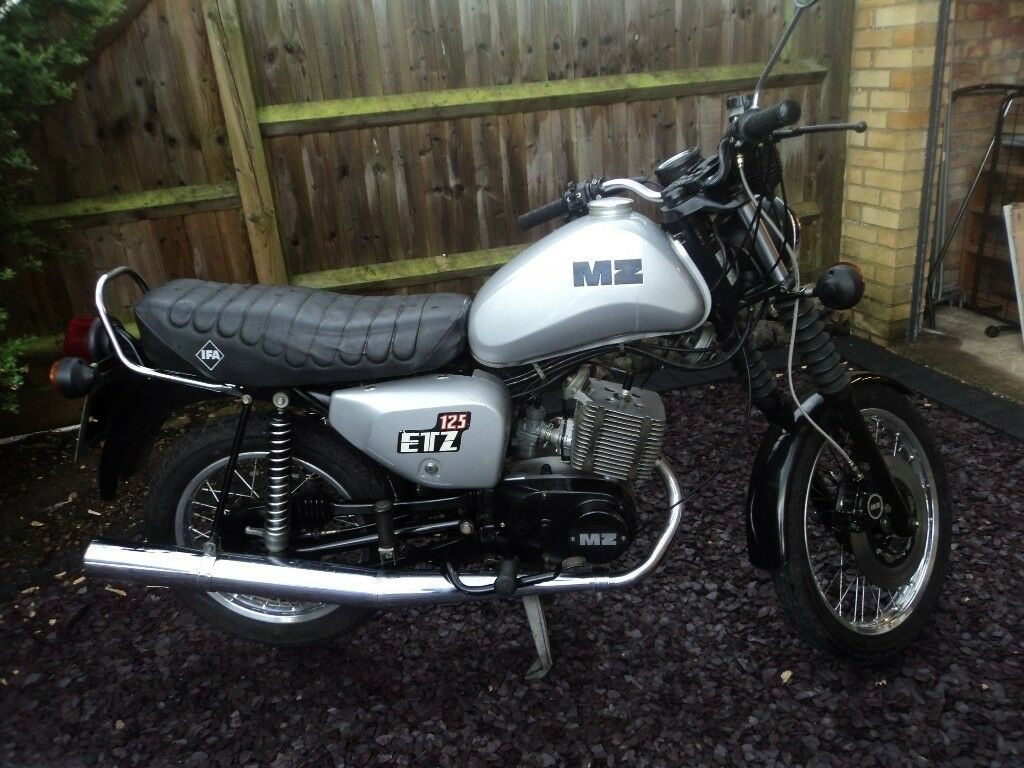 mz 125 cc etz 1986 motorcycle in abingdon oxfordshire. Black Bedroom Furniture Sets. Home Design Ideas