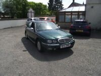 2001 ROVER 75 , TRADE PX TO CLEAR, SPARES OR REPAIR.