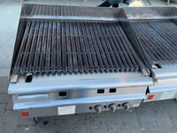 FALCON V SHAPE PERI PERI CHICKEN GAS GRILL FAST FOOD CATERING COMMERCIAL KITCHEN TAKE AWAY