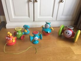 Toy bundle - all ELC electronic toys - music and lights, to get baby moving!
