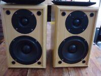 Acoustic Solutions - AV20 - Wooden Speakers (Pair)