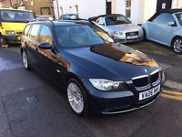 BMW 320I SE TOURING AUTOMATIC 2006 WITH FULL BMW HISTORY 1 PREVIOUS OWNER HEATED LEATHER LONG MOT