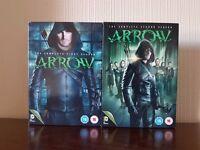 Arrow Season 1 & 2 DVD - Good Condition