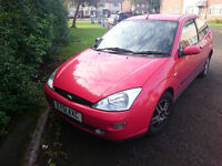 Ford Focus 1,8 l - Selling as spares or repairs.