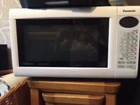 Microwave: Panasonic Slimline Combi