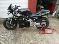 Triumph speed triple 955i black