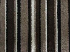 NEW Carpet (brown stripe) 3.5m x 1.2m