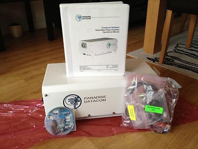 Teledyne Paradise Datacom Outdoor SSPA 100W C BAND + ZBUC Convertor. (NEW)
