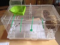 Birds cage with acss
