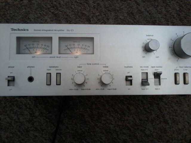 Technics lntergrated Amplifier SU Z1 | in Abingdon, Oxfordshire | Gumtree
