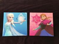 Frozen canvases x2