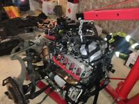Audi S5 engine and running gear complete 4.2 V8 with 6 speed manual gearbox
