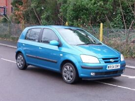 Hyundai Getz 1.1 petrol full service history only £795 p/x to clear