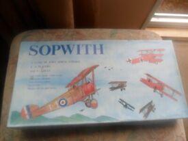 SOPWITH. vintage board game.