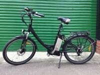 Whoosh Sant Ana electric bike, approx four years old, A1 condition