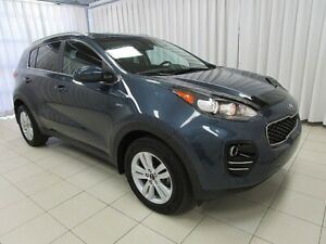 2017 Kia Sportage LX AWD SUV w/ BLUETOOTH, HEATED SEATS, USB/AUX