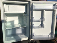 Undercounter fridge freezer, some cosmetic wear but fine working order - £5