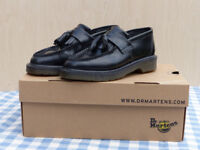 Dr Martens Adrian Tassel Loafers Shoes Boots Size 3 EU Size 36 Martins
