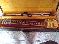 VINTAGE JEDSON STEEL SLIDE GUITAR,AS USED BY DAVE GILMORE OF PINK FLOYD,