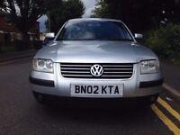 2002 VOLKSWAGEN PASSAT 1.9 TDI SPORT 130 BHP ONLY 75000 MILES FULLY SERVICED WITH CAM BELT CHANGED