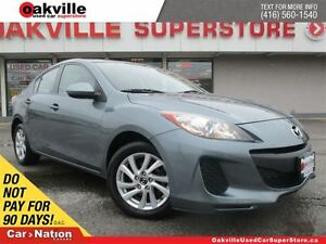 2013 Mazda MAZDA3 GX | ACCIDENT FREE | ALLOY WHEELS | POWER GROU