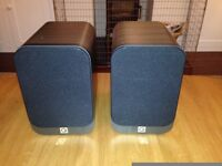 Q Acoustics 3020 speakers Hi Fi New