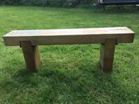 Double Garden bench
