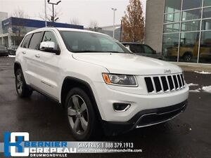 2015 Jeep Grand Cherokee Limited **CUIR, GPS, TOIT**