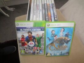 Excellent condition various Xbox 360 games