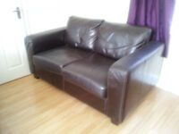 leather 2 and single seat sofas.