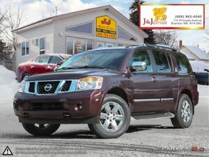 2013 Nissan Armada Platinum Platinum, Leather, 4x4, 5.6L