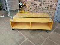 Ikea lounge coffee table / tv unit