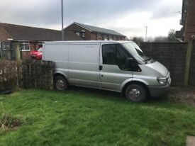 Ford Transit low mileage in excellent condition