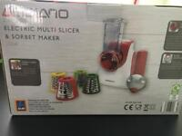 Ambiano 2 in 1 Electric Multi Slicer and Sorbet Maker