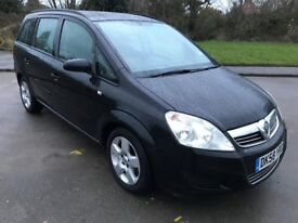 Excellent Value 2008 58 Zafira Exclusiv 7 Seater family Car 98000 Miles Mot until December 2018
