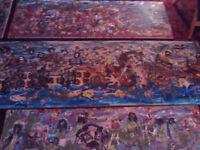 illustrative paintings.
