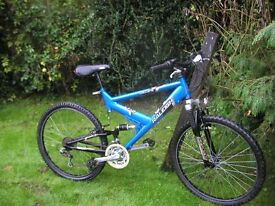 raleigh vulture full suspension 19 in frame,very tidy,runs well