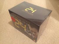 24 - The Complete Series 1-8 + Redemption DVD Boxset - NEW and SEALED - UK Region 2