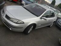 RENAULT LAGUNA 120 1.9 DCI DIESEL 55 REG APRIL TEST 6 SPEED BIRTLEY CAR SALES DH3 1PR