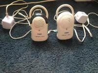 Tomy walk about classic baby monitor with charger