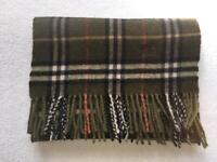 Immaculate Burberry Lambswool Scarf