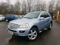 Mercedes-Benz 2006 56,ML320CDI SPORT,82,000miles,Service history,Long MOT,Finance