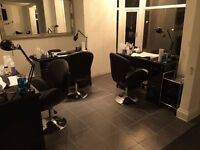 Chair or room to rent in busy salon Kings Heath