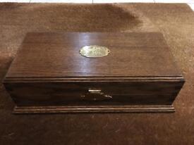 GLENFIDDICH REAL WOOD REAR BOX